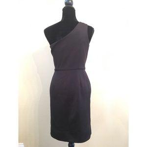 Guess Dresses - Guess One shoulder Little black dress size 7 new